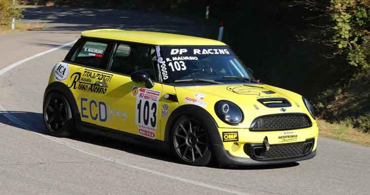 Roberto Malvasio al via dello Special Rally Circuit a Monza