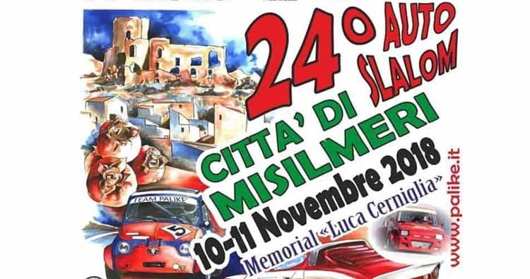Concluse le iscrizioni per il 24° Autoslalom Città di Misilmeri