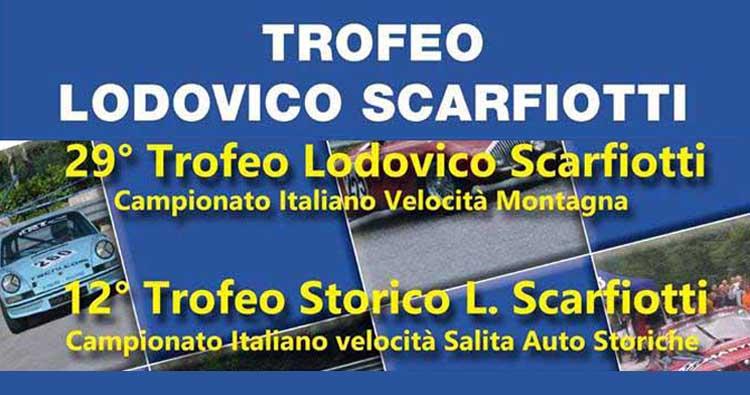 """Il """"Trofeo Scarfiotti"""" attende i protagonisti del C.I.V.M."""