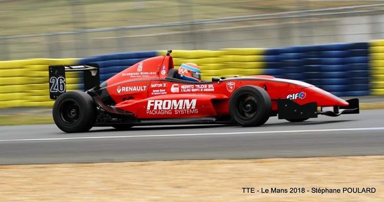 Un primo ed un secondo posto per Karim Sartori a Le Mans