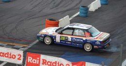 Dominio di Riolo-Rappa su Subaru al Monza Rally Historic Show