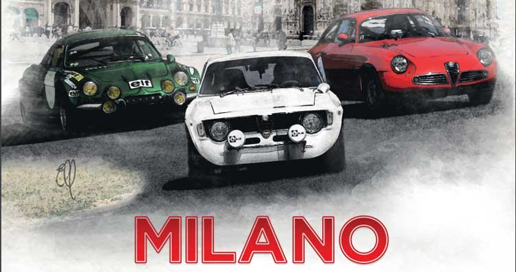 Una partenza indimenticabile per il Rallye Monte-Carlo Historique!