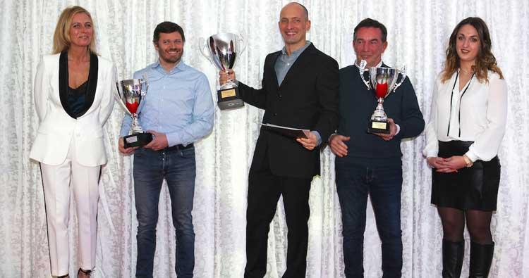 Peccenini premiato dal VdeV per il terzo titolo Gentleman Driver