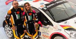 Rachele Somaschini al Montecarlo. Prima volta nel Mondiale di Rally con i colori di FFC