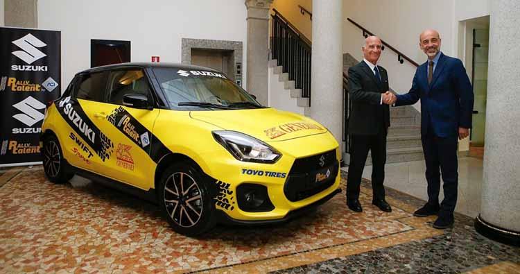 Presentata la sesta edizione dell'ACI Rally Italia Talent firmata Suzuki