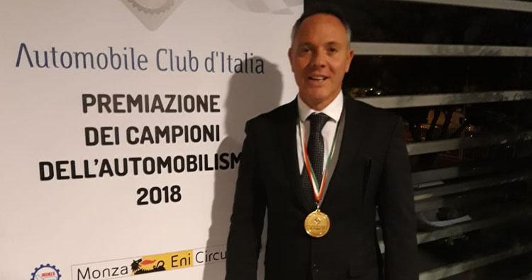 Giovanni Loffredo e Re D'Italia Art premiati al Monza Eni Circuit per i successi 2018