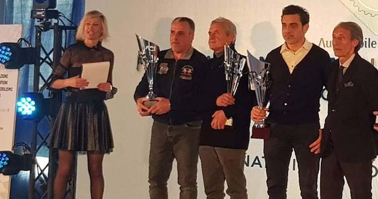 Mancaruso premiato al Monza ENI Circuit