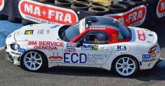 Franciacorta Rally Show: Roberto Malvasio non parte bene