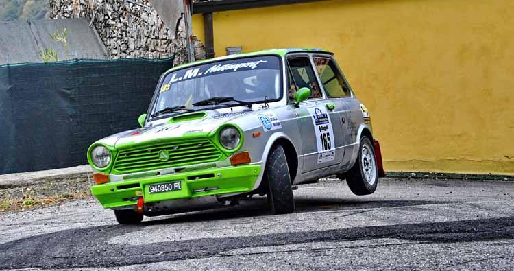 Al 1° Lessinia Rally Historic premio speciale per le 112 Abarth