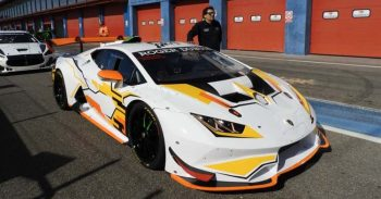 Primi test per Rosario Parrino sulla Lamborghini Huracan