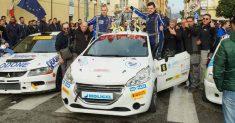 Testa sbaraglia il campo e vince con merito il primo Rally di Formia
