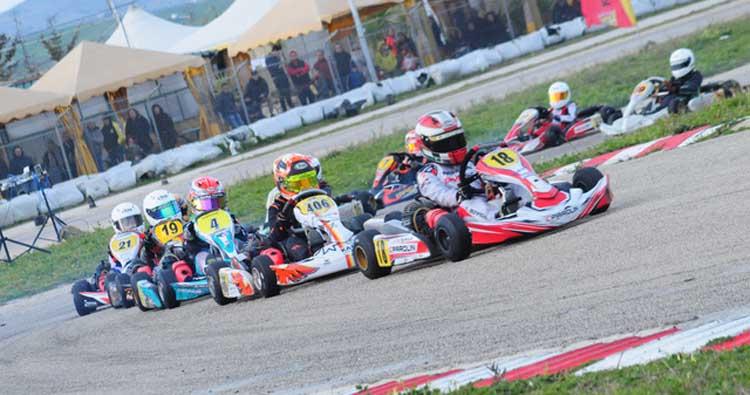 Motori accesi per il terzo round del campionato karting Aci sport Sicilia