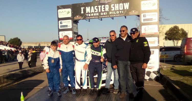 1° Master Show Memorial Andrea Marinelli al pilota svizzero Stefano Mella (Skoda Fabia R5)