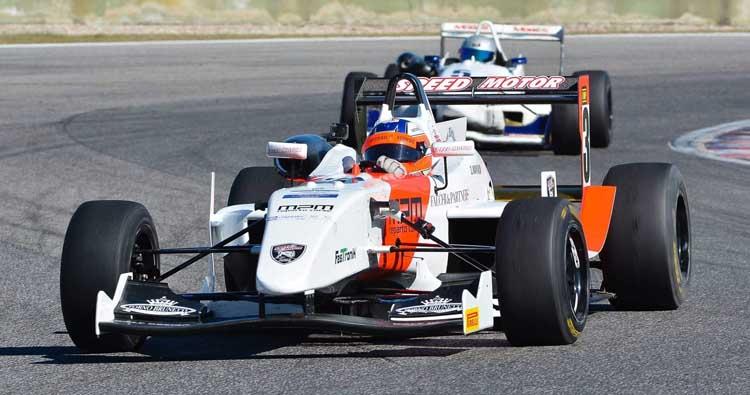 Damiano Manni vince la gara del Trofeo Formula Libera a Magione