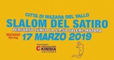 Tutto pronto per il 3° Slalom automobilistico del Satiro – Città di Mazara del Vallo