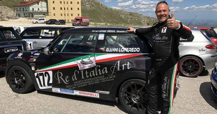 Vittoria di classe e podio di gruppo per il Salernitano Giovanni Loffredo alla Sarnano – Sassotetto