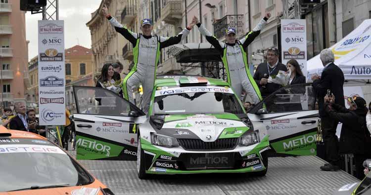 Rallye Sanremo, Craig Breen e Paul Nagle vincono nel finale