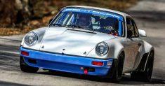 Da Zanche sogna il poker al Rally di Sanremo su Porsche 911 gruppo B