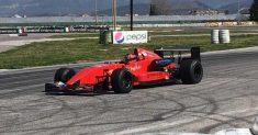 Andrea Parisi alla 28ª Salita del Costo con la Lola Dome 2000