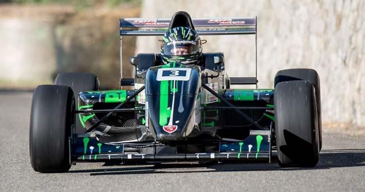 Esordio stagionale per Franco Bertò alla Rechbergrennen con la sua Tatuus Formula Abarth 010