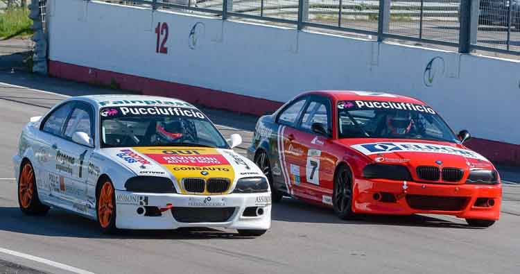 BMW 318 Racing Series a Magione