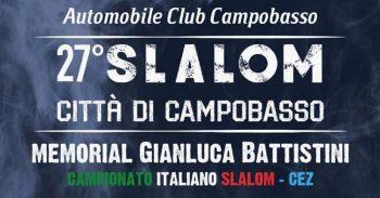 Torna a maggio l'appuntamento con lo Slalom Città di Campobasso – Memorial Gianluca Battistini