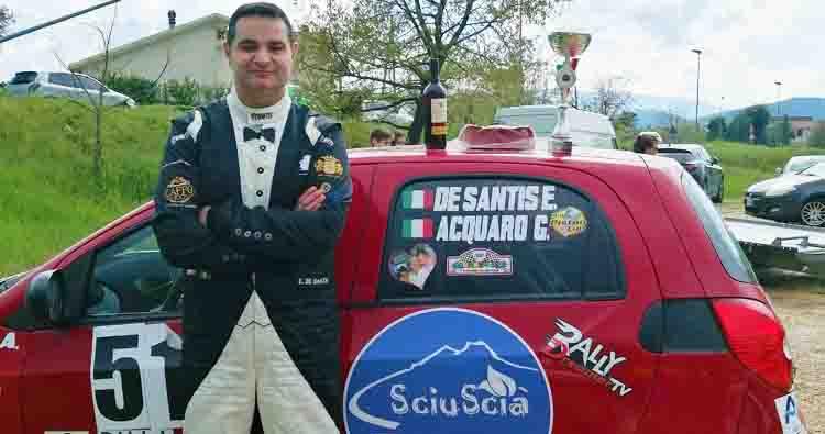 Emiddio De Santis, buona la prima allo Slalom dei Due Comuni