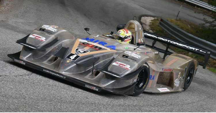 Tre alfieri della Speed Motor al Trofeo Scarfiotti