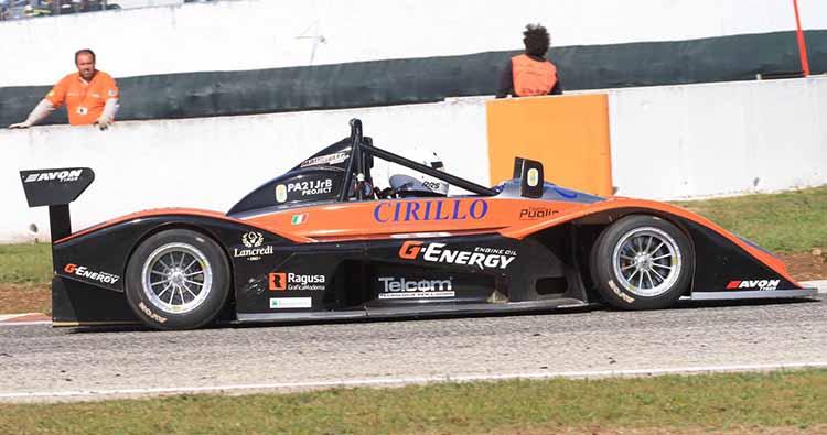 Francesco Carini al via del 29° Trofeo Scarfiotti con una Osella motorizzata Suzuki