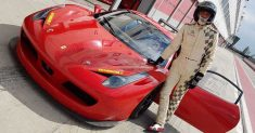 Michele Mancin al Costo con una Ferrari 458 Evo