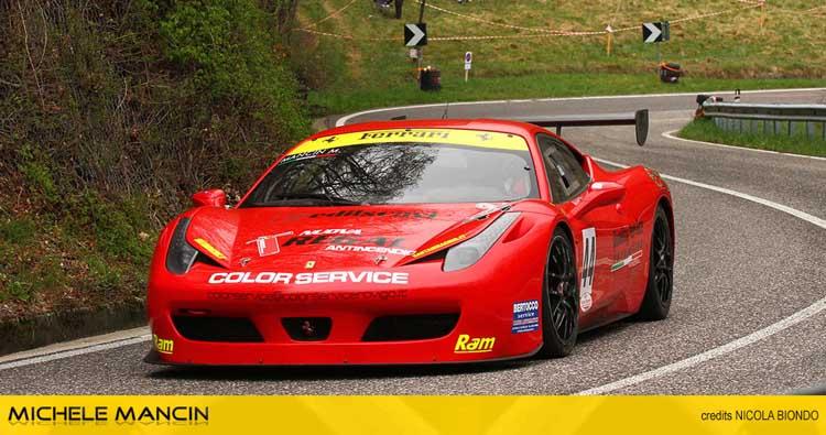 Debutto vincente sulla Ferrari al Costo per Michele Mancin