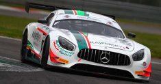 Rovera sale sul podio all'esordio con la Mercedes-AMG a Monza