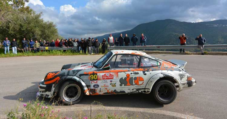 Rally dei Nebrodi all'insegna del Team Guagliardo