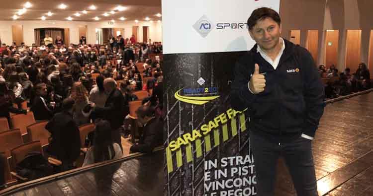 """Sara Safe Factor a Roma per gli studenti de """"La Sapienza"""""""