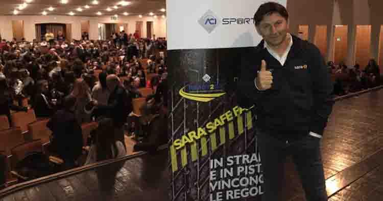 Sara Safe Factor rilancia in Calabria i test drive con le auto elettriche