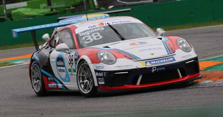 Simone Iaquinta riparte per il secondo round della Porsche Carrera Cup Italia