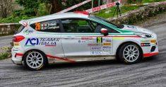 Marco Pollara e David Castiglioni al via del 26° Rally Adriatico