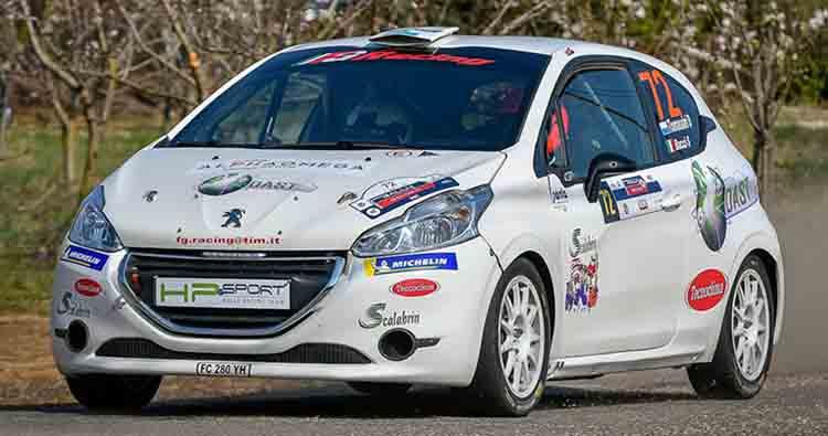HP SPORT al Rally del Salento punta in alto con Sorci e Tomassini