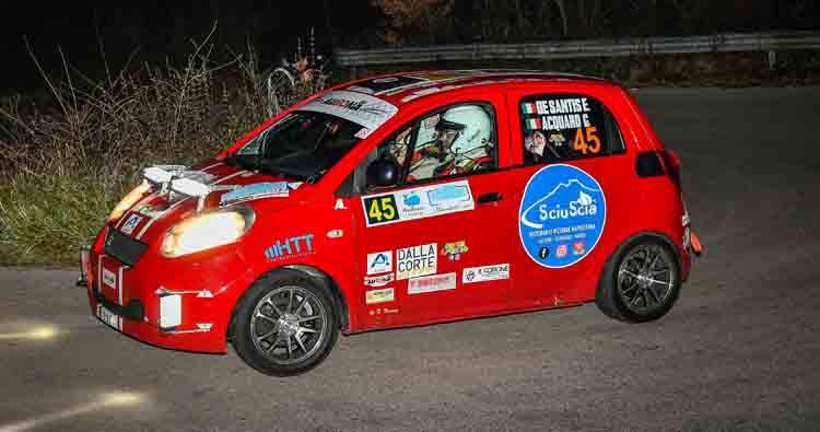 De Santis – Acquaro, al traguardo oltre la sfortuna al Rally di Pofi