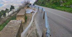 61ª Monte Erice a rischio per una frana sul percorso