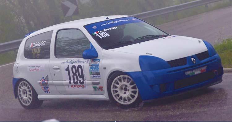 La Clio Cup di Grossi alla 50ª Verzegnis – Sella Chianzutan