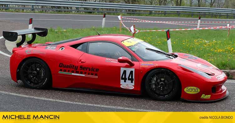 A Verzegnis Michele Mancin torna sulla Ferrari