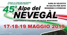 Michele Massaro miglior tempo in gara 1 delle autostoriche nella 45ª Alpe del Nevegal