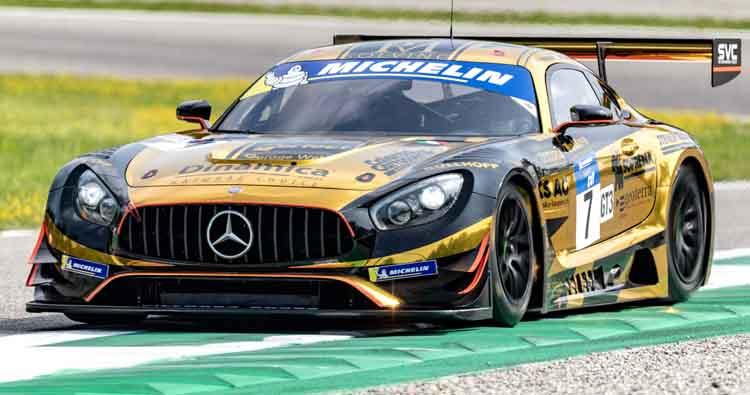 Villorba Corse rientra nel Blancpain GT Series con la Mercedes-AMG