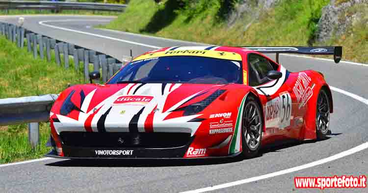 Luca Gaetani ed il Team Gaetani Racing in gara ad Ascoli