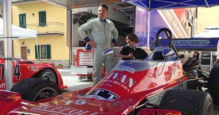 Stefano Peroni su Martini Mk 32 migliore interprete delle ricognizioni allo Spino