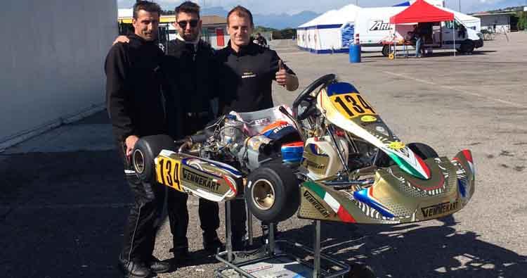 La Speed Motor presente anche nel karting con Karim Sartori