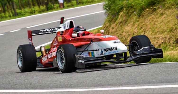 Assoluto della Speed Motor 01 e di Alessandro Alcidi all'esordio nella Cronoscalata dello Spino