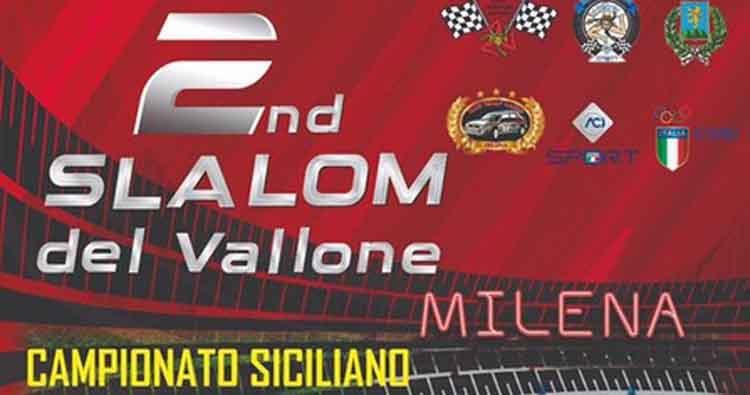 Si corre il 9 giugno il 2° Slalom del Vallone a Milena