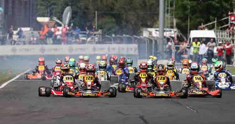 Grande agonismo nella seconda prova del Campionato Italiano ACI Karting al Circuito di Siena con il record di 283 piloti